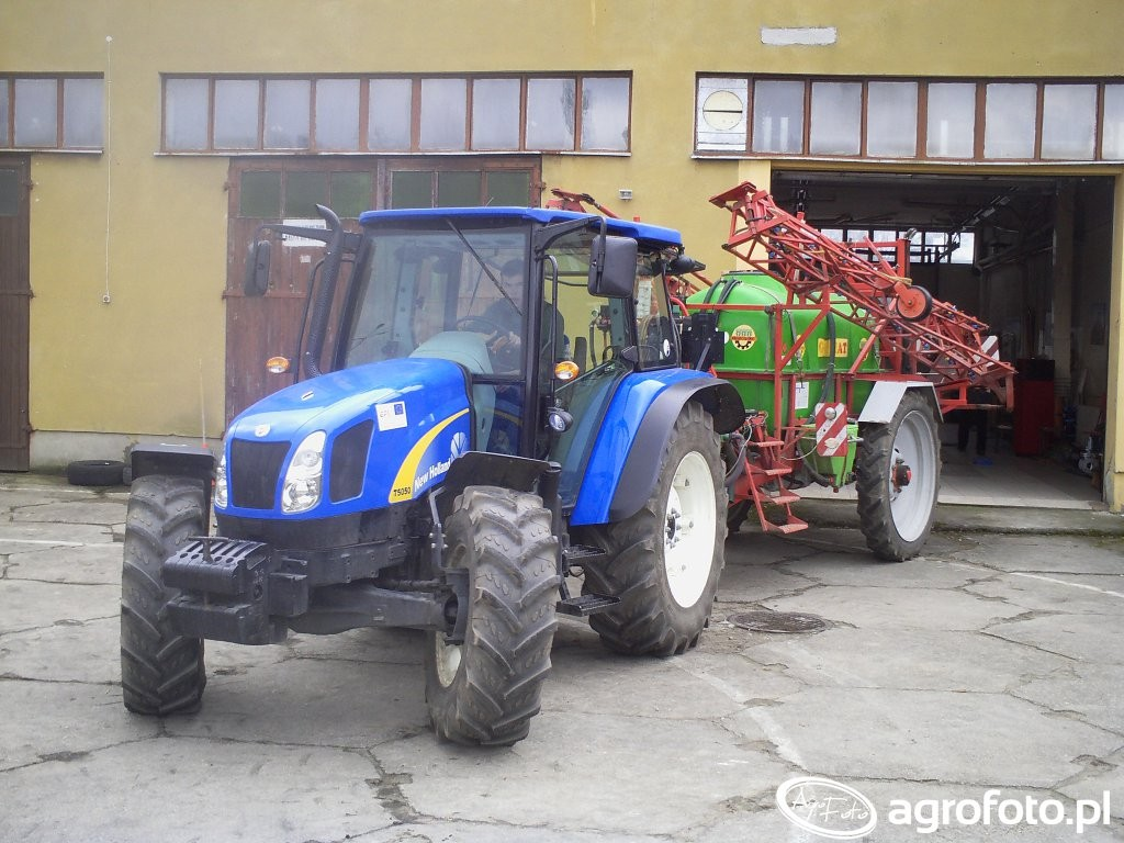 New Holland T5050 Dane techniczne - AgroTesty pl