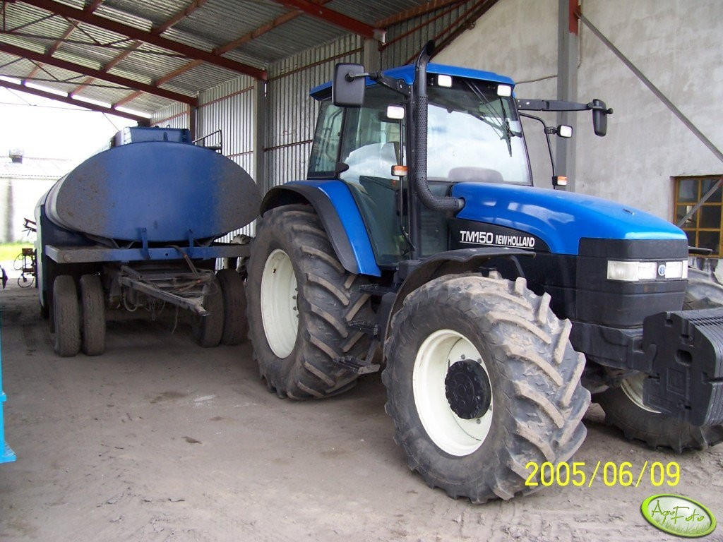 New Holland TM150 Dane techniczne - AgroTesty pl