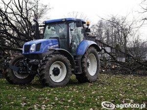 New Holland T6.165 Dane techniczne