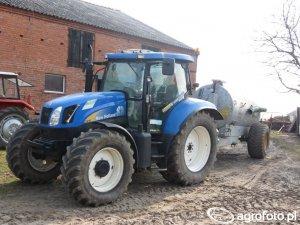 New Holland TS135A Dane techniczne