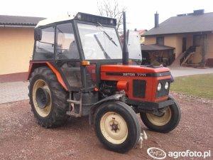 Zetor 7711 1985-1993 Dane techniczne