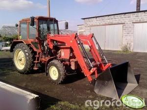 Belarus 552 Dane techniczne