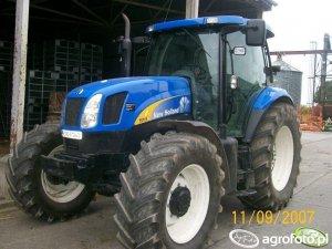 New Holland TS115 (2001-2003) Dane techniczne