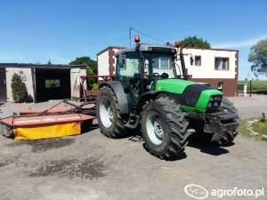Deutz-Fahr Agrofarm 410 Dane techniczne