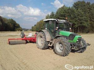 Deutz-Fahr Agrofarm 430 Dane techniczne