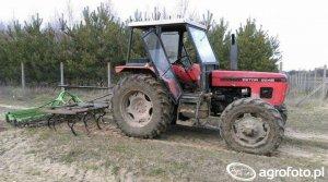 Zetor 6245 1984-1987 Dane techniczne